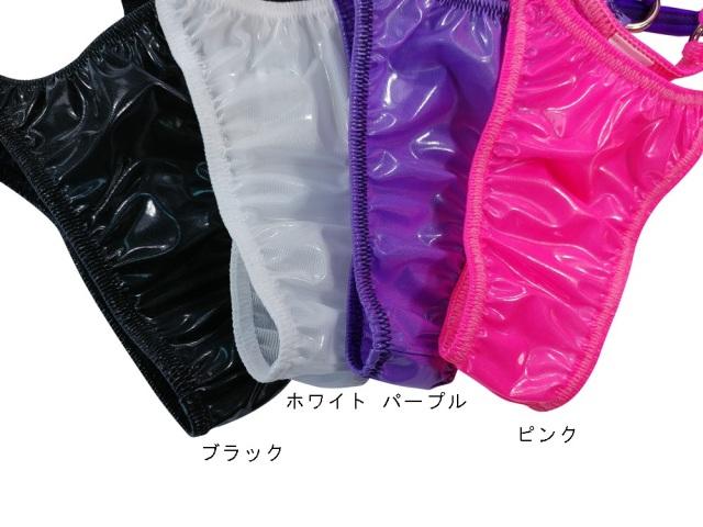 トップモードジャパン メンズ ルシードエナメル リング Tバック サスペンダー 71121